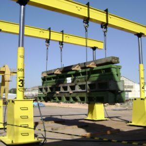 Pórtico Hidráulico Telescópico – 40 à 800 toneladas